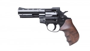 """HW 38 - 4"""" with wooden combat grip"""